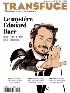 Couverture Edouard Baer