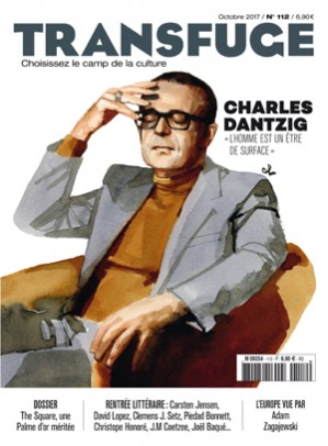 Couverture Charles Dantzig