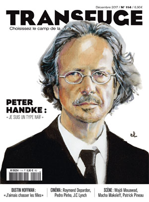 Couverture Peter Handke