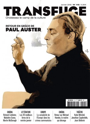 Couverture Paul Auster