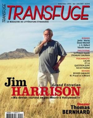 Couverture Jim Harrison