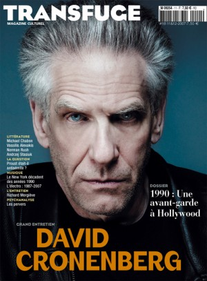 Couverture David Cronenberg