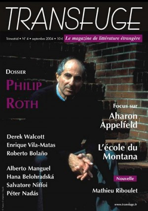 Couverture Philip Roth