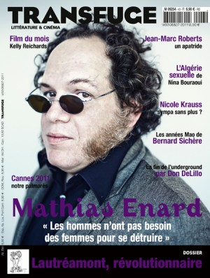 Couverture Mathias Enard