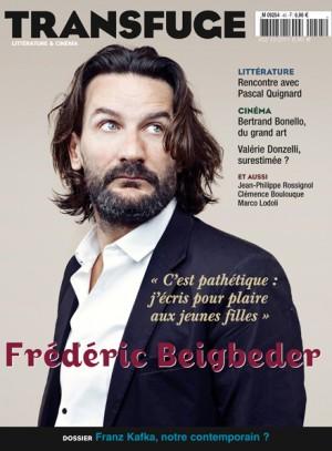 Couverture Frédéric Beigbeder