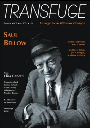 Couverture Saul Bellow