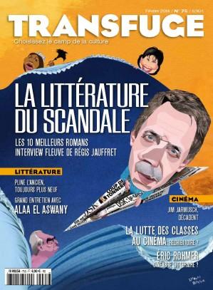 Couverture La littérature du scandale