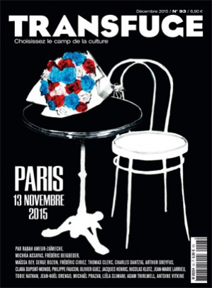 Couverture Paris 13 novembre 2015