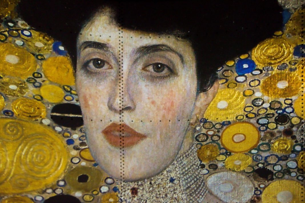 Expo Klimt à l'Atelier des lumières