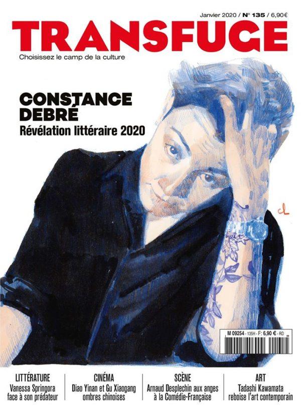 Couverture Constance Debré