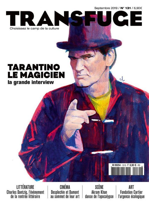 Couverture Quentin Tarantino