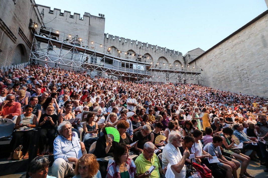 Cour d'honneur du Festival d'Avignon